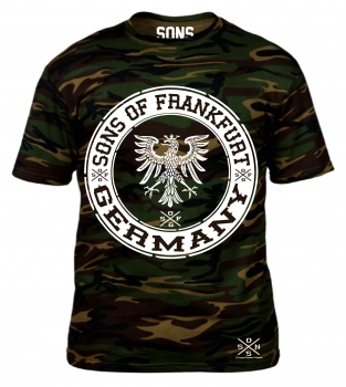 SONS OF FRANKFURT PATCH CAMOUFLAGE